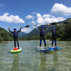 Wildwasser Stand Up Paddling Bayern