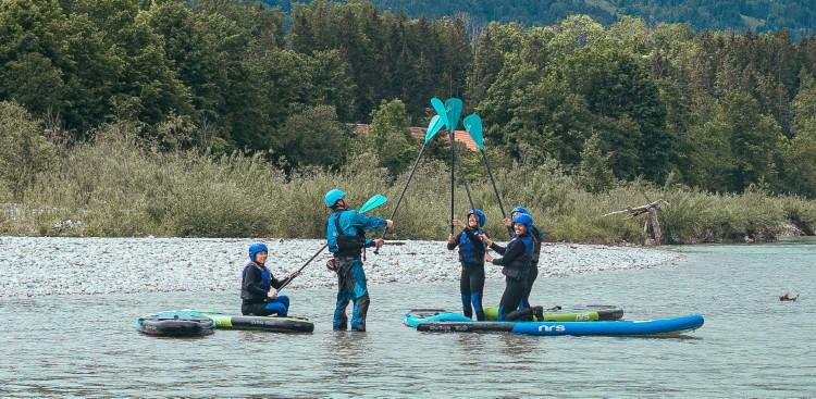 Isar Wildwassertour